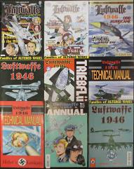 Luftwaffe 1946 Collection - 9 Issues!