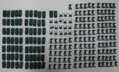 Memoir '44 Miniatures Collection #1 - Americans, 226 Figures!