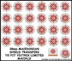Macedonian Shields - Type #3