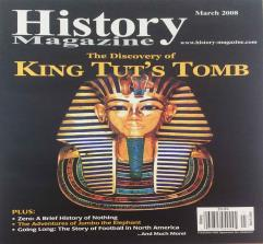"""March 2008 """"The Discovery of King Tut's Tomb"""""""