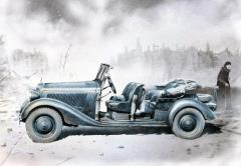 German Military Car - Polizei-Kubelsitzwagen ab 1937