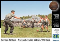 """German Tankers"" - A Break Between Battles"