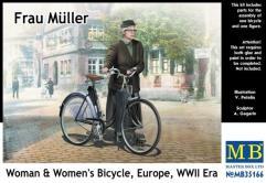 Frau Muller w/Women's Bicycle