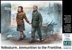 Volkssturm - Ammunition to the Frontline
