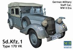German Military Staff Car - Sd.Kfz.1 Type 170VK