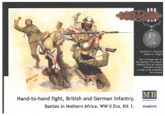 Hand-to-Hand Combat - British & German Infantry, Battles in Northern Africa
