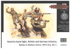 Hand-to-Hand Combat - British & German Infantry, Battles in Northern Africa