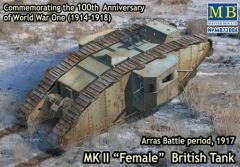 "Mk.II ""Female"" British Tank - Arras Battle Period 1917"