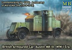 "British Armoured Car ""Austin"" Mk.III - WWI Era"