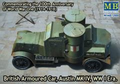 "British Armoured Car ""Austin"" Mk.IV - WWI Era"