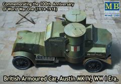 "British Armoured Car ""Austin"" Mk.IV - WWI Era"
