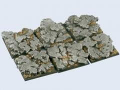 40x40mm Ruins - Square Bases