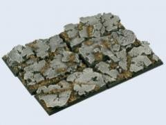 25x50mm Ruins - Cavalry Bases