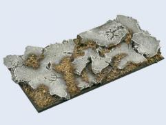 100mm Ruins - Chariot Base