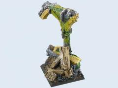 40mm Ruins - Flying Base #2