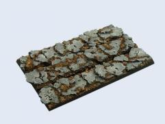125x25mm Ruins - Regiment Bases