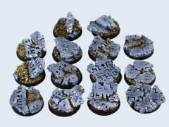 25mm Ruins - Round Bases