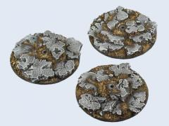 60mm Ruins - Flying Round Base (1)