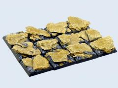 25x25mm Shale - Square Bases