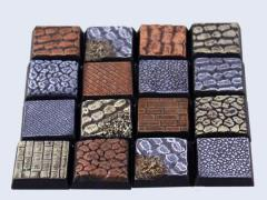 20x20mm Cobblestone - Square Bases