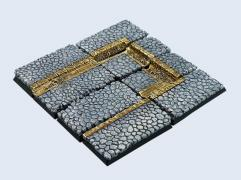 40x40mm Cobblestone - Square Bases