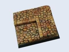 50x50mm Cobblestone - Square Base #1