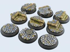 30mm Cobblestone - Warmachine Round Bases