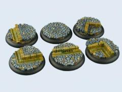 40mm Cobblestone - Warmachine Round Bases