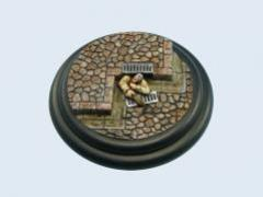 80mm Cobblestone - Warmachine Round Base #1