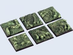 40x40mm Spooky - Square Bases