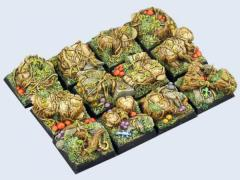 20x20mm Forest - Square Bases #1