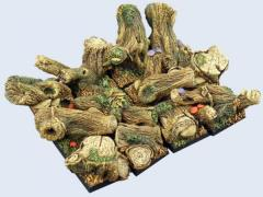 20x20mm Forest - Square Bases #2