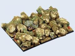 40x40mm Forest - Square Bases