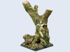 40x40mm Forest - Flying Square Base #1