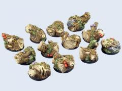 25mm Forest - Round Bases