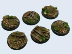 40mm Wood - Warmachine Round Bases