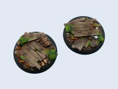 50mm Wood - Warmachine Round Base