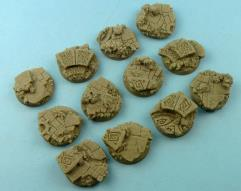 25mm Mystic - Round Bases