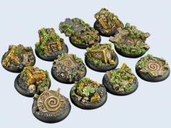 30mm Mystic - Warmachine Round Bases