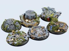 40mm Mystic - Warmachine Round Bases