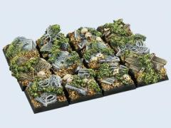 20x20mm Graveyard - Square Bases