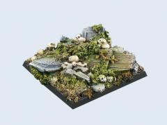 50x50mm Graveyard - Square Base