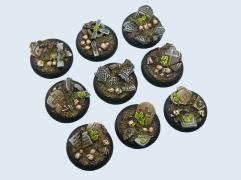 30mm Graveyard - Warmachine Round Bases