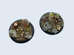 50mm Graveyard - Warmachine Round Bases