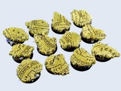 25mm Temple - Round Bases
