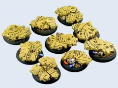 30mm Temple - Warmachine Round Bases