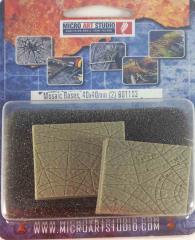 40x40mm Mosaic - Square Base