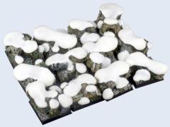 25x25mm Winter Forest - Square Bases