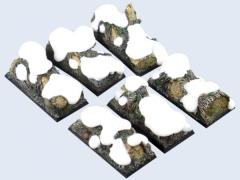 25x50mm Winter Forest - Cavalry Bases