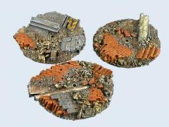 60mm Old Factory - Flying Round Base